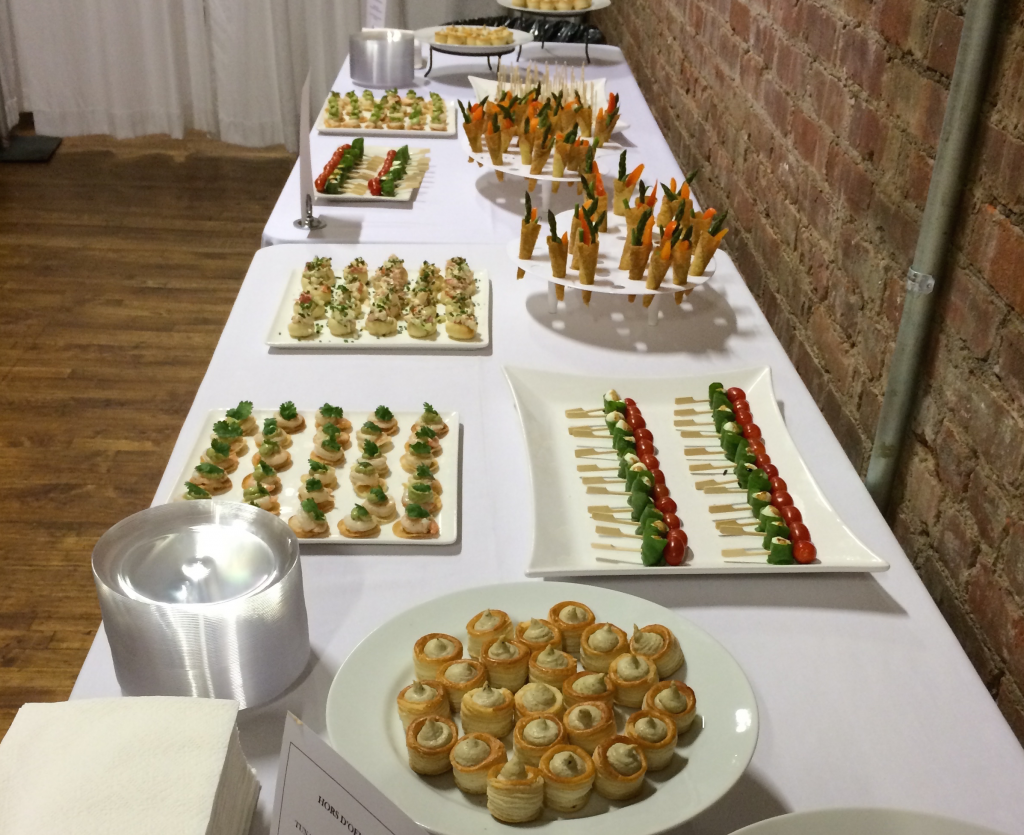 Event Curve hors d'oeuvres